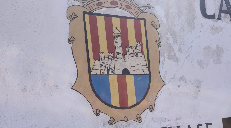 Atletic de Ciutadella logo on a wall