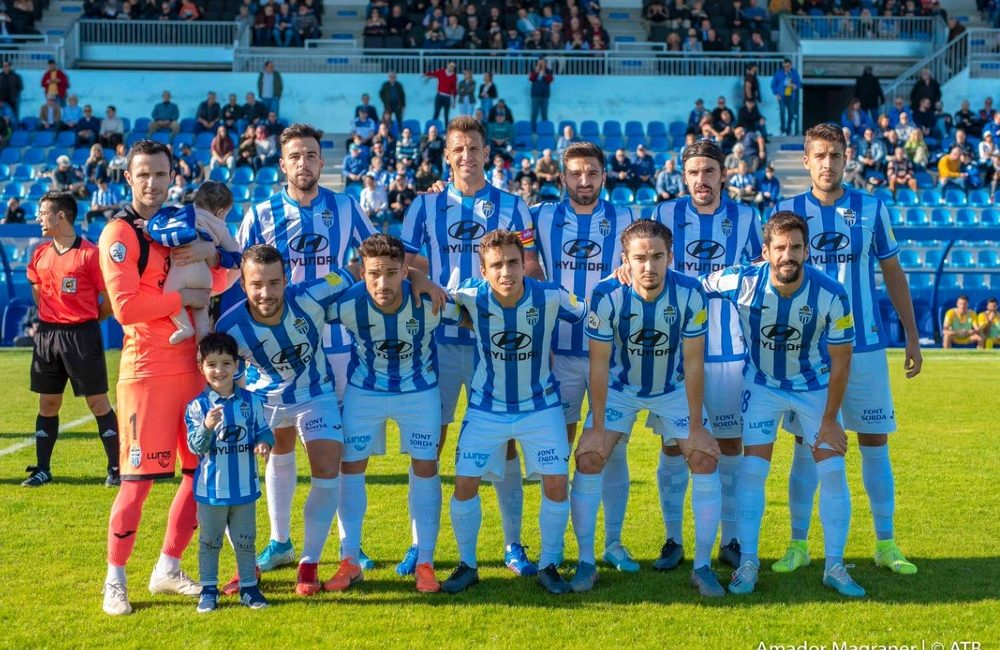 Atletico Baleares squad photo